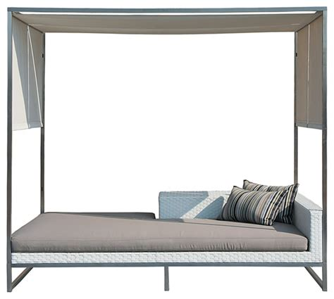Canopy Daybed Outdoor Daybed W Canopy Modern Outdoor Sofas Los Angeles By Viesso