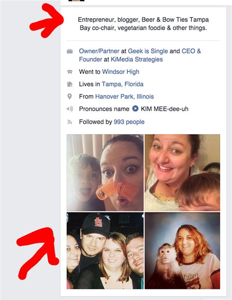short biography for facebook facebook adds short bio featured pictures to personal