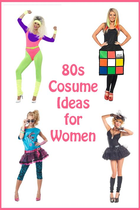 80s Costumes For by 80s Costume Ideas For