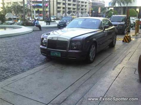 roll royce philippines rolls royce phantom spotted in manila philippines on 09