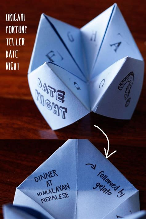 Origami Fortune Teller Ideas - top 40 gifts for your boyfriend