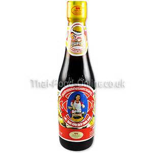 oyster sauce small bottle from your authentic thai supermarket