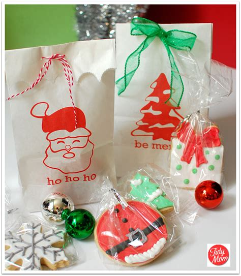 adult christmas goodie bags ideas free printable gift bags