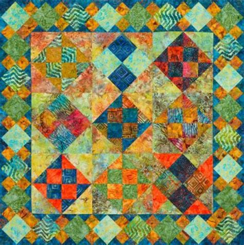 batik patchwork pattern free batik quilt patterns allpeoplequilt com