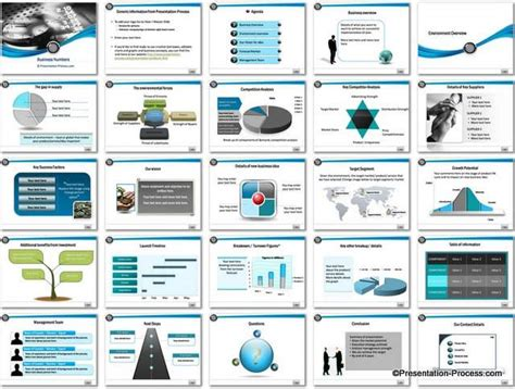 Business Numbers Powerpoint Template Powerpoint Business Plan Template
