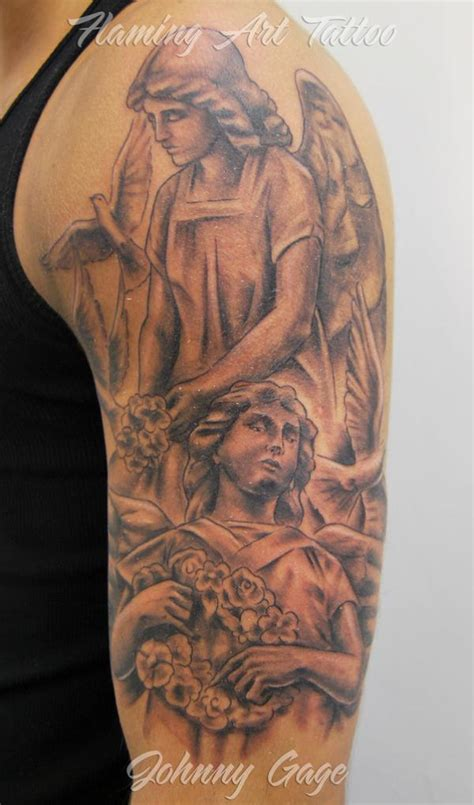 angel tattoo half sleeve designs 60 holy angel tattoo designs tattoo designs tattoo and