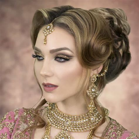 Asian Wedding Hairstyles by 2018 Asian Wedding Hairstyles Bridal Hairstylist