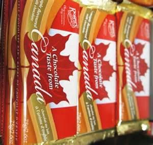 canadian chocolate bars