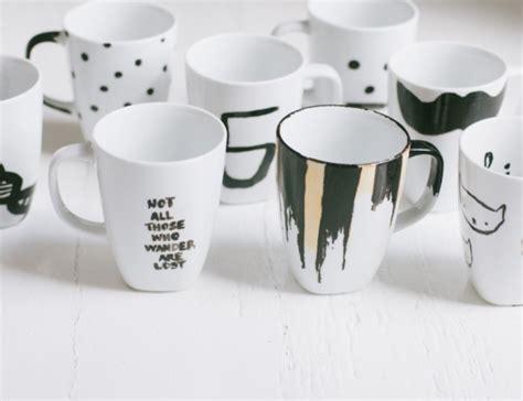 design a mug with sharpie 50 diy sharpie coffee mug designs to try bored art