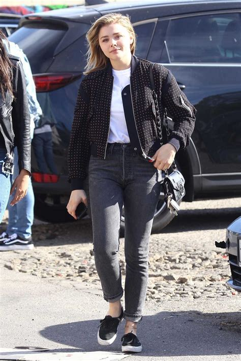 actress who plays chloe in friends chloe moretz was seen out with a friend in la 12 18 2017