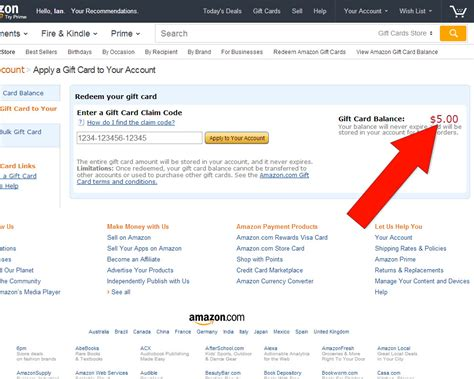 How To Generate Amazon Gift Card Code - how to apply a gift card code to amazon 8 steps