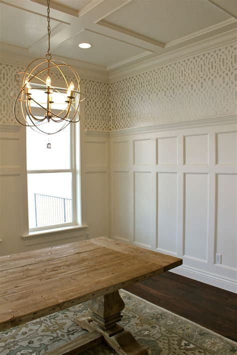 Rooms With Wainscoting by S Casablanca Dining Room Transformation