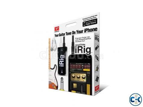 Irig Litube Ios Guitar Interface Adapter irig guitar interface adapter for ios iphone clickbd