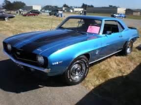 1969 camaro ss blue sport cars camaro ss