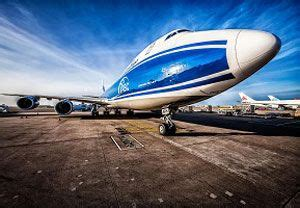 russian air cargo carrier reports major increase in freight tonnage carried industry