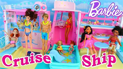barbie ship videos barbie cruise ship vintage house boat toy review with