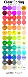 clear color palette best 25 clear ideas on