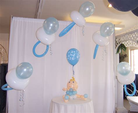 Baby Shower Balloon Centerpiece by Baby Shower Balloon Centerpieces Favors Ideas