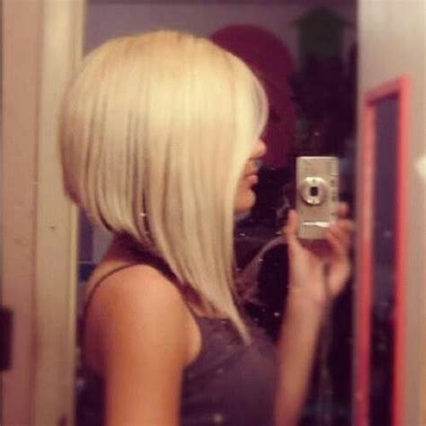 hair cut back shorter than front long in front short in back blond hair fashion