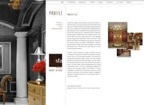 interior design portfolio website santa barbara web designers candi