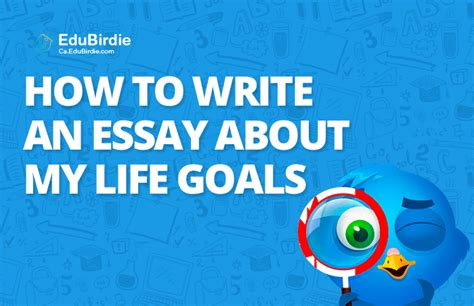 How To Write An Essay About Your Goals by Academic Writing Guides For Canadian Students Ca Edubirdie