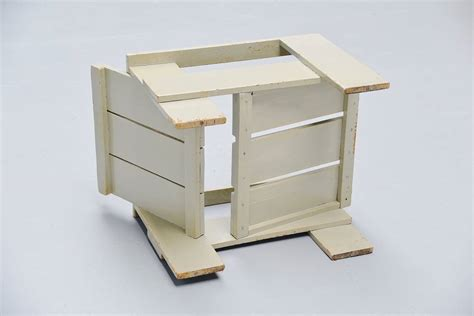 Gerrit Rietveld Crate Chair by Gerrit Rietveld Crate Chair Metz And Co 1940 For
