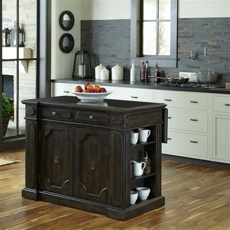 hayneedle kitchen island home styles hacienda wood top kitchen island kitchen