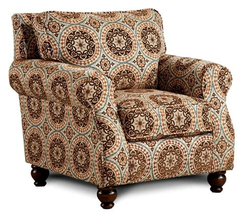 tribal pattern chair adderley tribal pattern accent chair from furniture of
