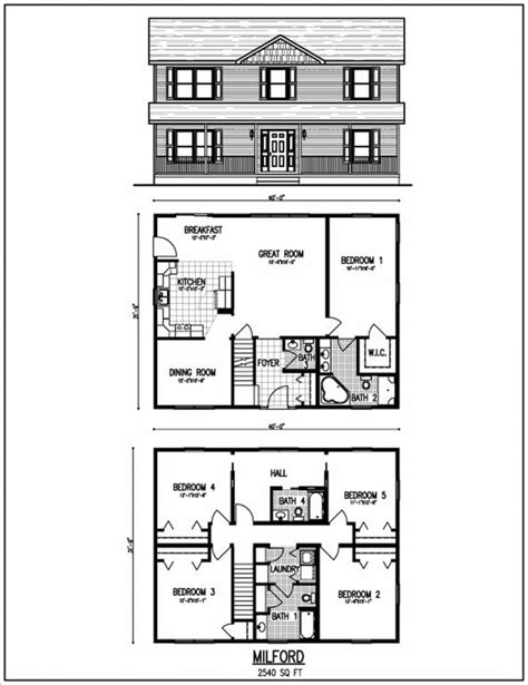 Beautiful 2 Story House Plans With Upper Level Floor Plan | beautiful 2 story house plans with upper level floor plan