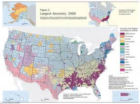 us map by nationality american ethnicity map shows melting pot of ethnicities