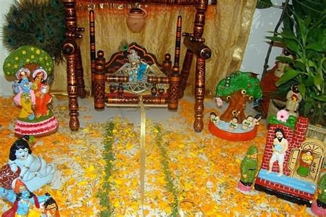 15 krishna janmashtami decoration pictures and