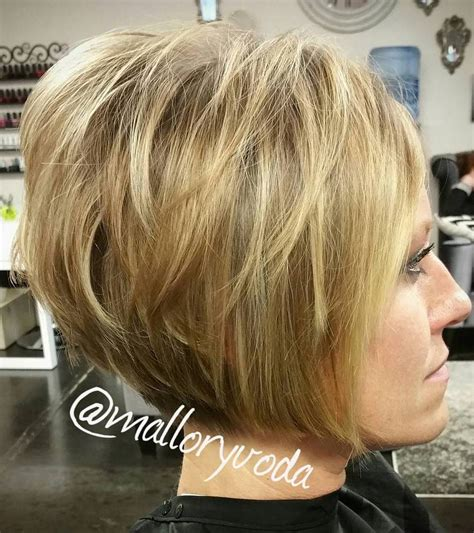 stacked bob haircut teased 50 layered bob styles modern haircuts with layers for any