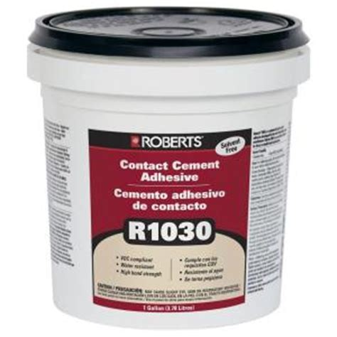 1 gal contact cement adhesive for cork wall tiles