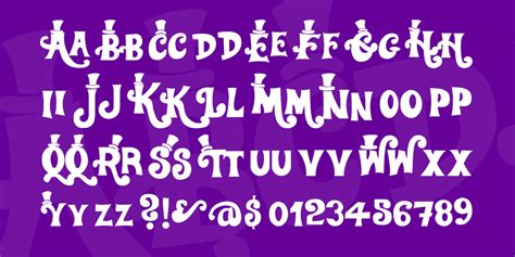 willy wonka font 183 1001 fonts