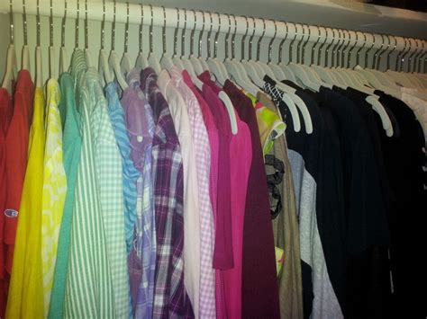 Color Coded Closet by Best 25 Color Coded Closet Ideas Only On
