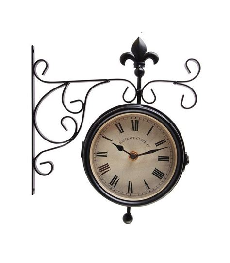 horloge exterieure horloge ext 233 rieure heure thermom 232 tre