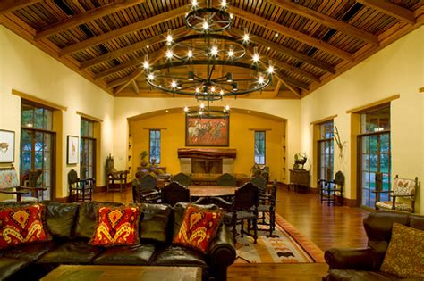 Dining Room Pendant Lights by Rustic Hacienda Style Texas Ranch Southwestern Living