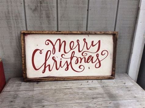 merry christmas sign rustic christmas sign  sophisticatedhilbily christmas signs wood