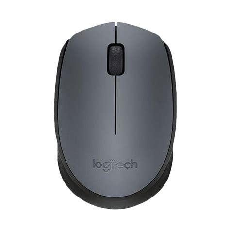 Mouse Logitech Hitam jual logitech m171 wireless usb mouse hitam harga kualitas terjamin blibli