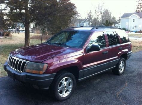 Gas Mileage 2001 Jeep Grand Buy Used 2001 Jeep Grand Laredo 4 7l V8 Quadra