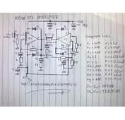 100W BTL TDA2030 Amplifier Circuit  Electronic