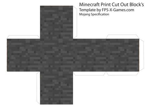 Minecraft Papercraft Block - minecraft downloads