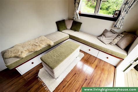 tiny house couch diy cottage style tiny house revisited living big in