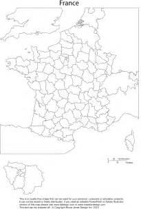 France Map Blank by Pics Photos France Printable Blank Map Administrative