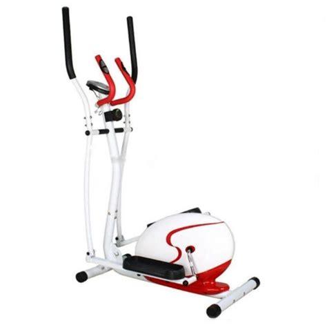 sepeda fitness tl 2516 crosstrainer eleptical merah putih