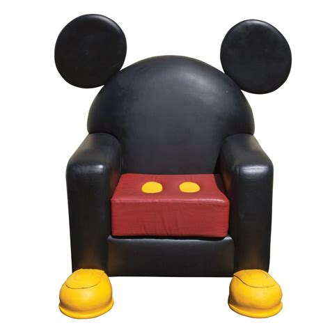 mickey mouse recliner mickey chair mickey mouse and friends pinterest