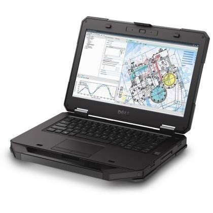 dell latitude 14 5414 rugged laptop windows 7, 8.1, 10
