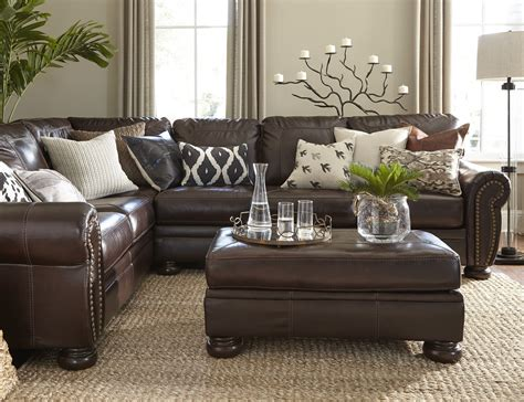 brown leather sofa living room ideas living room brown leather sofa