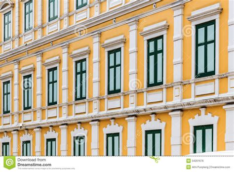 building style european style yellow building neoclassical architecture