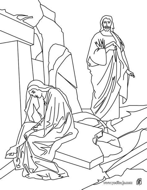imagenes de jesus grandes para imprimir dibujos para colorear resurrecci 243 n de jes 250 s es hellokids com